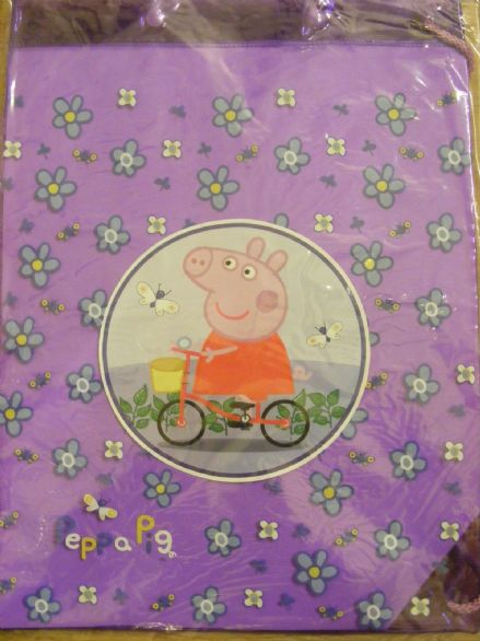 BNWT PEPPA PIG CHILD'S swimbag PERFECT FOR SCHOOL